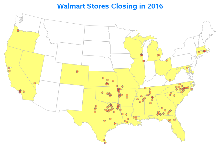 Which stores will Walmart close in 2016 SAS Learning Post