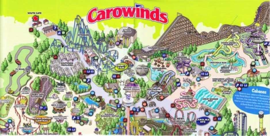 carowinds_map