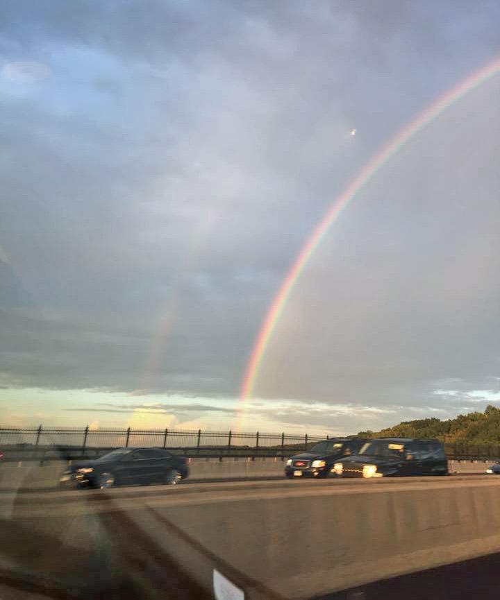 a nice rainbow