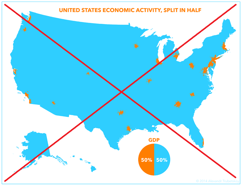MSAs Account For Of US GDP SAS Learning Post - Us msa map