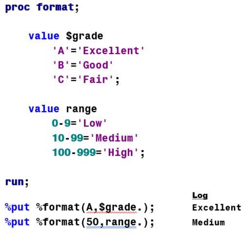 format a macro variable