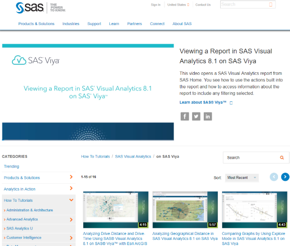 SAS Viya with resources