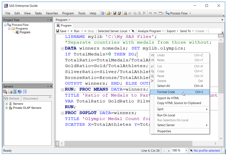 SAS Enterprise Guide tools for programmers - SAS Learning Post