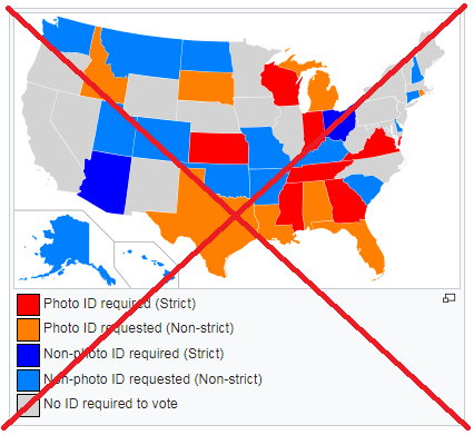 Which Us States Require An Id To Vote Sas Learning Post