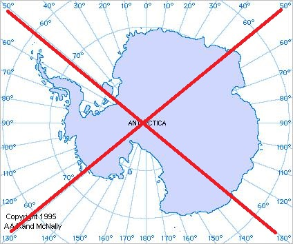 Plotting data on Antarctica - a mapping challenge! - SAS Learning Post