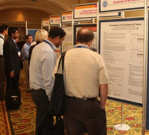 Student posters at Analytics 2011