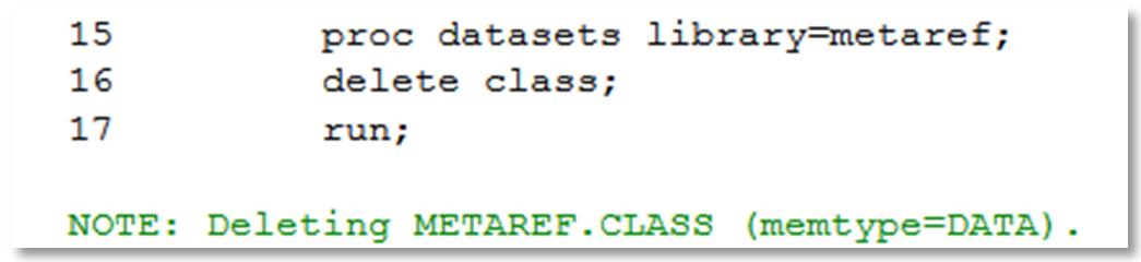 sas pre assigned library