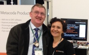 Headshot of SASGF 2014 trip winner Bob Whitehead and Michelle Homes