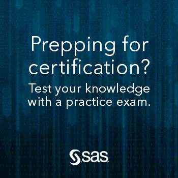 Prepping for certification? Test your knowledge with a practice exam.