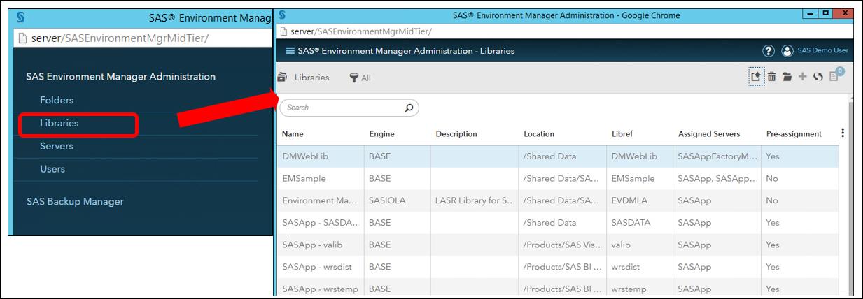 SAS Administrators EnvironmentManager