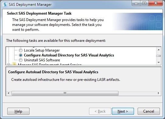 SAS Visual Analytics autoload configuration made easy