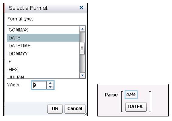Date in Visual Analytics Designer10