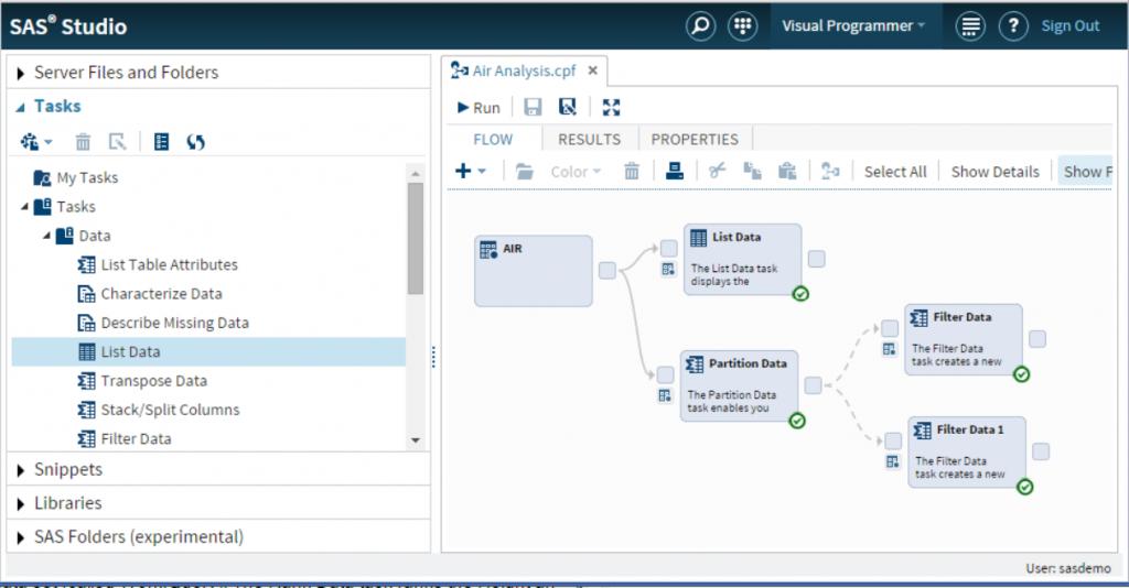 SAS Studio Parallel Process Flows1