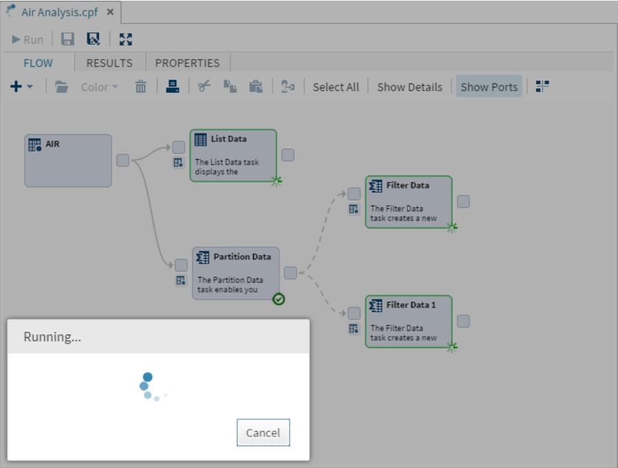 SAS Studio Parallel Process Flows3