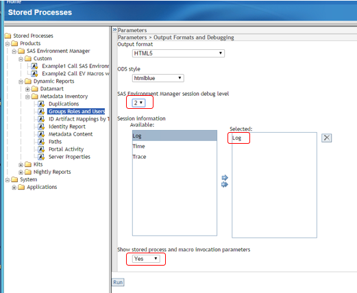 Auditing Using the SAS Environment Manager Report Center05