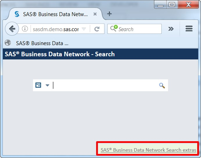Conduct a google-like web search for business terms with SAS Business Data Network4