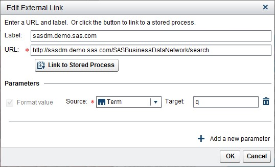 Conduct a google-like web search for business terms with SAS Business Data Network6