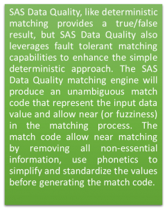 Suggestion based matching in SAS Data Quality02