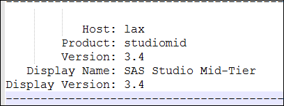 Update to SAS Studio 3.5_1