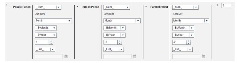 Calculate a moving average using periodic operators in SAS Visual Analytics10