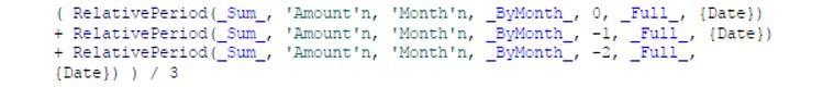 Calculate a moving average using periodic operators in SAS Visual Analytics3