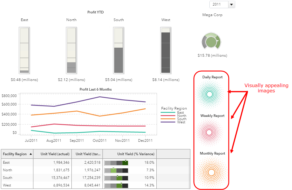Use images in SAS Visual Analytics