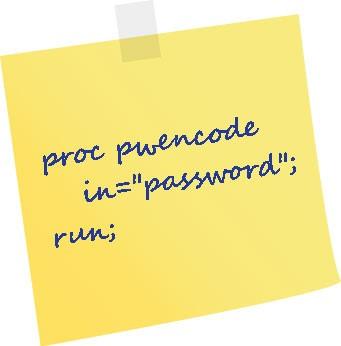 PROC PWENCODE sticker
