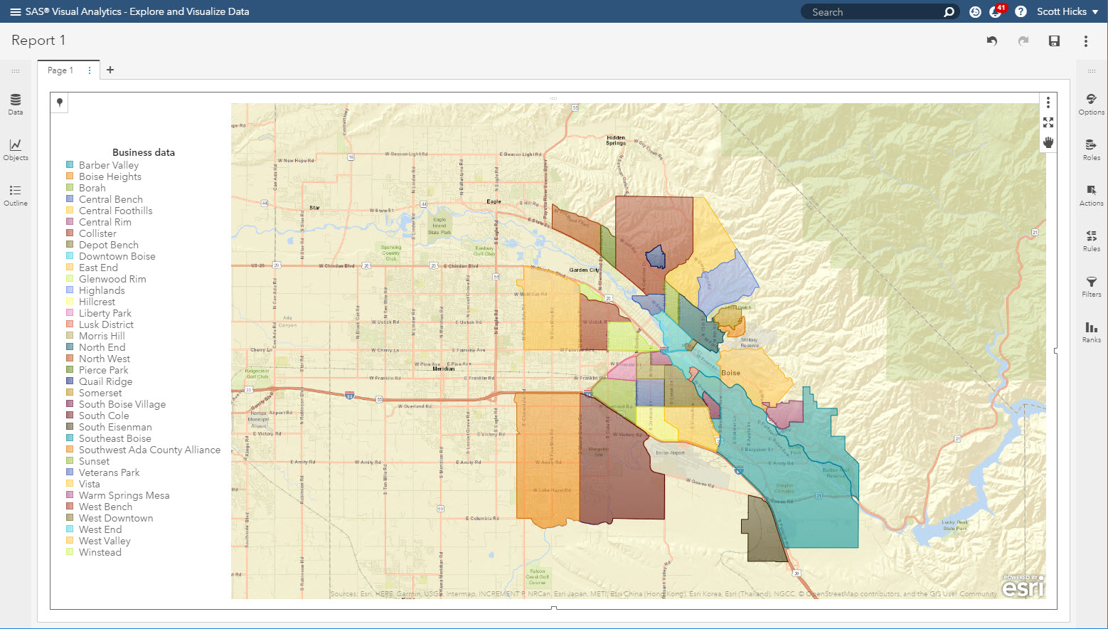 Creating custom region maps with SAS Visual Analytics - SAS Users