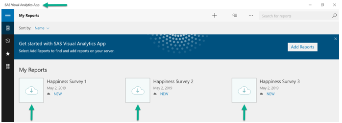 Five key security features in the SAS Visual Analytics app