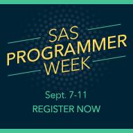 All hail the SAS programmer!