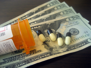 Even auto insurance fraud can be used to score opioids illegally. Image by Flickr user Images Money
