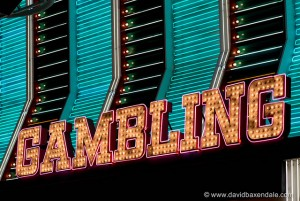 gambling sign photo