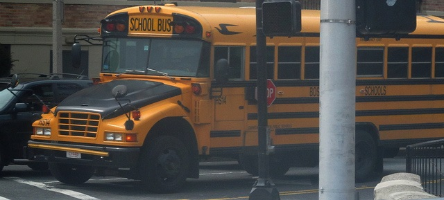 Boston Public Schools bus