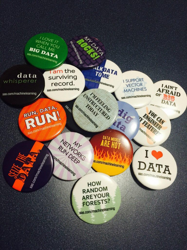 KDD buttons
