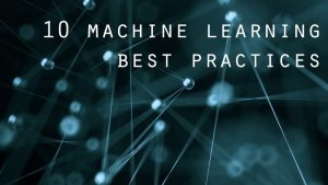 machine learning best practices promo graphic