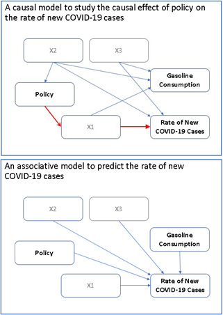 Covid Causal and Associative Models