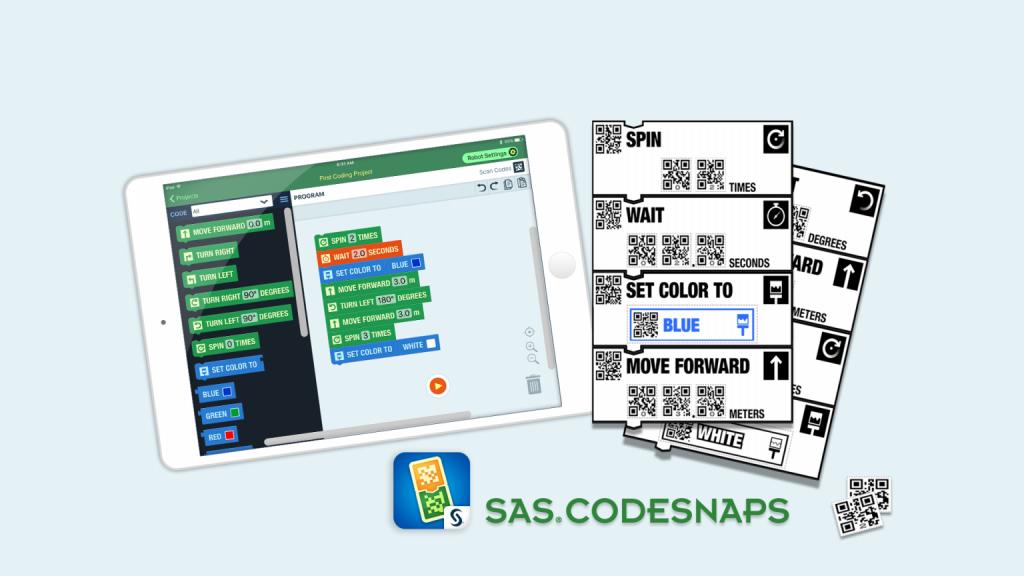 CodeSnaps screenshot and printed coding blocks